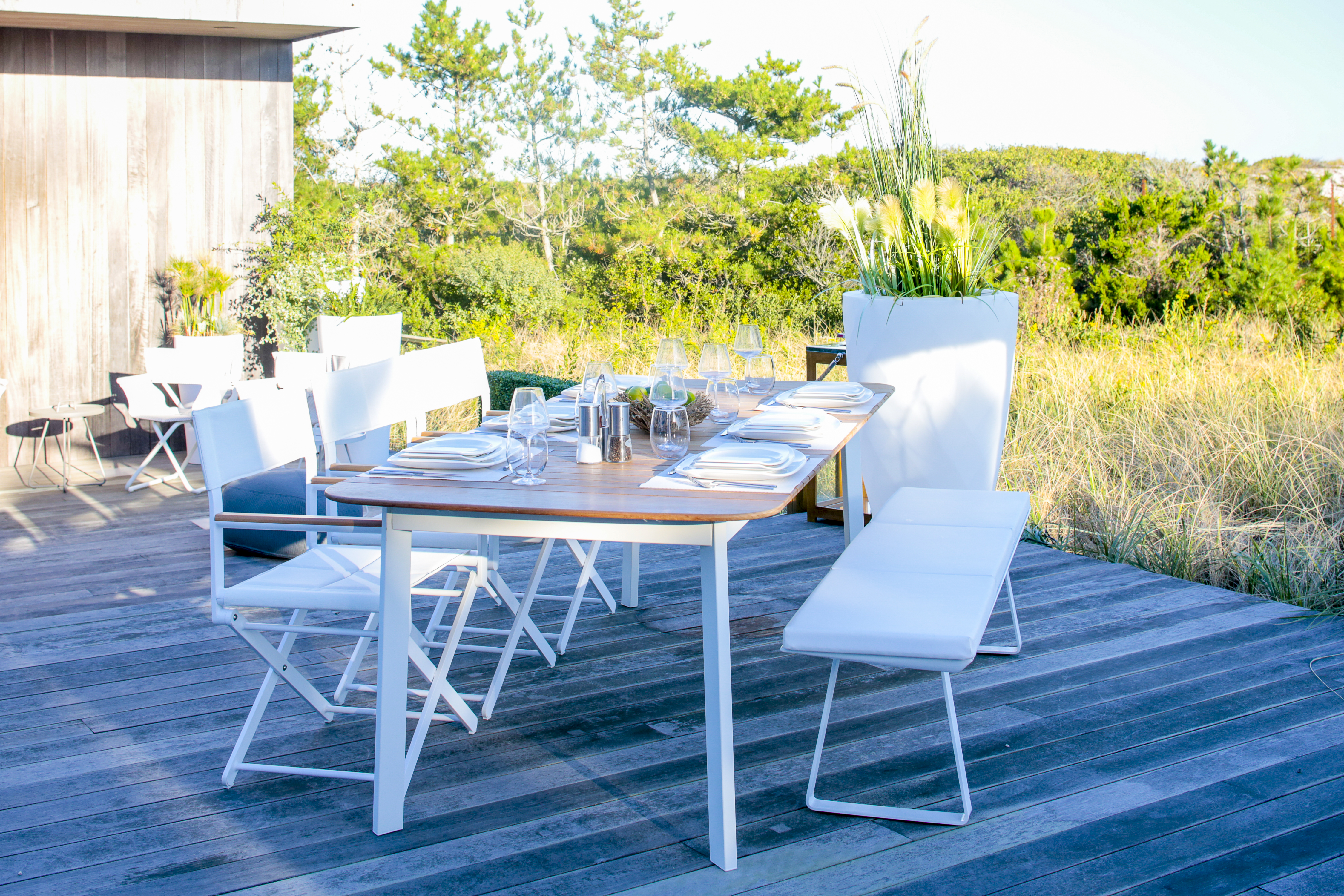 Dune Teak Dining Table Couture Outdoor