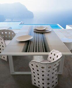 b&b italia canasta dining table
