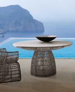 b&b Italia crinoline dining table