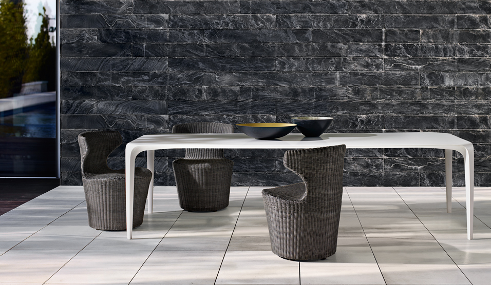 B b italia link dining collection couture outdoor - B b italia link table ...