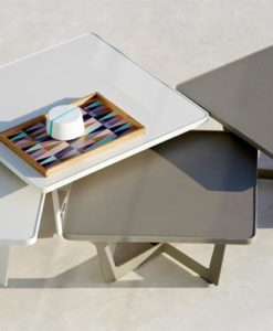 square coffee side table
