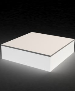 LED coffee table is not just ascetically pleasing with its glorious straight lines and futuristic glow. Its just the piece that gives off the perfect ambiance for any mood.