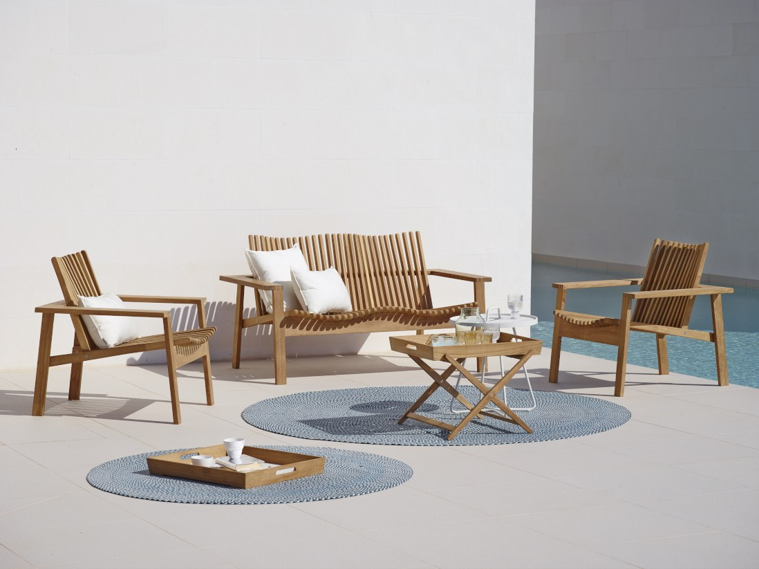 teak amaze club chair by cane line couture outdoor rh coutureoutdoor com cane line outdoor furniture canada cane-line garden furniture uk