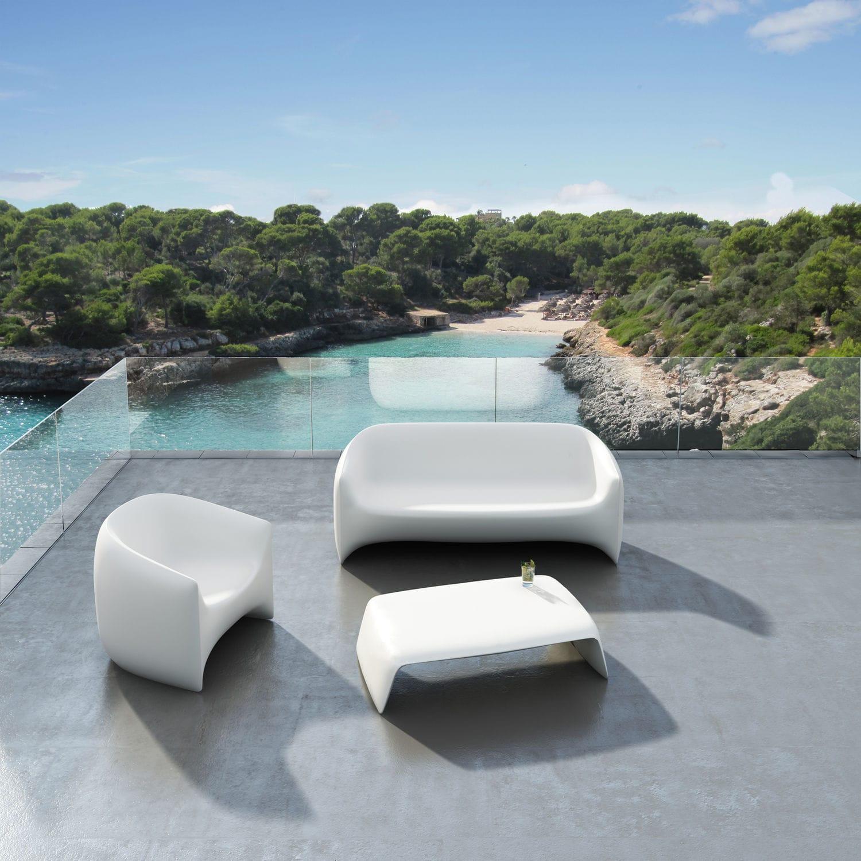 Salon De Jardin Vondom > Vondom Blow 2 Seater Sofa Couture Outdoor