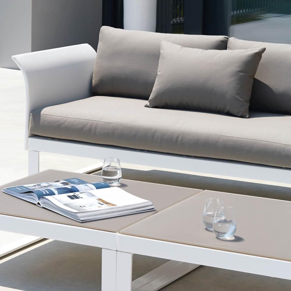 Aura sectional modular sofa couture outdoor for Sofa modular exterior