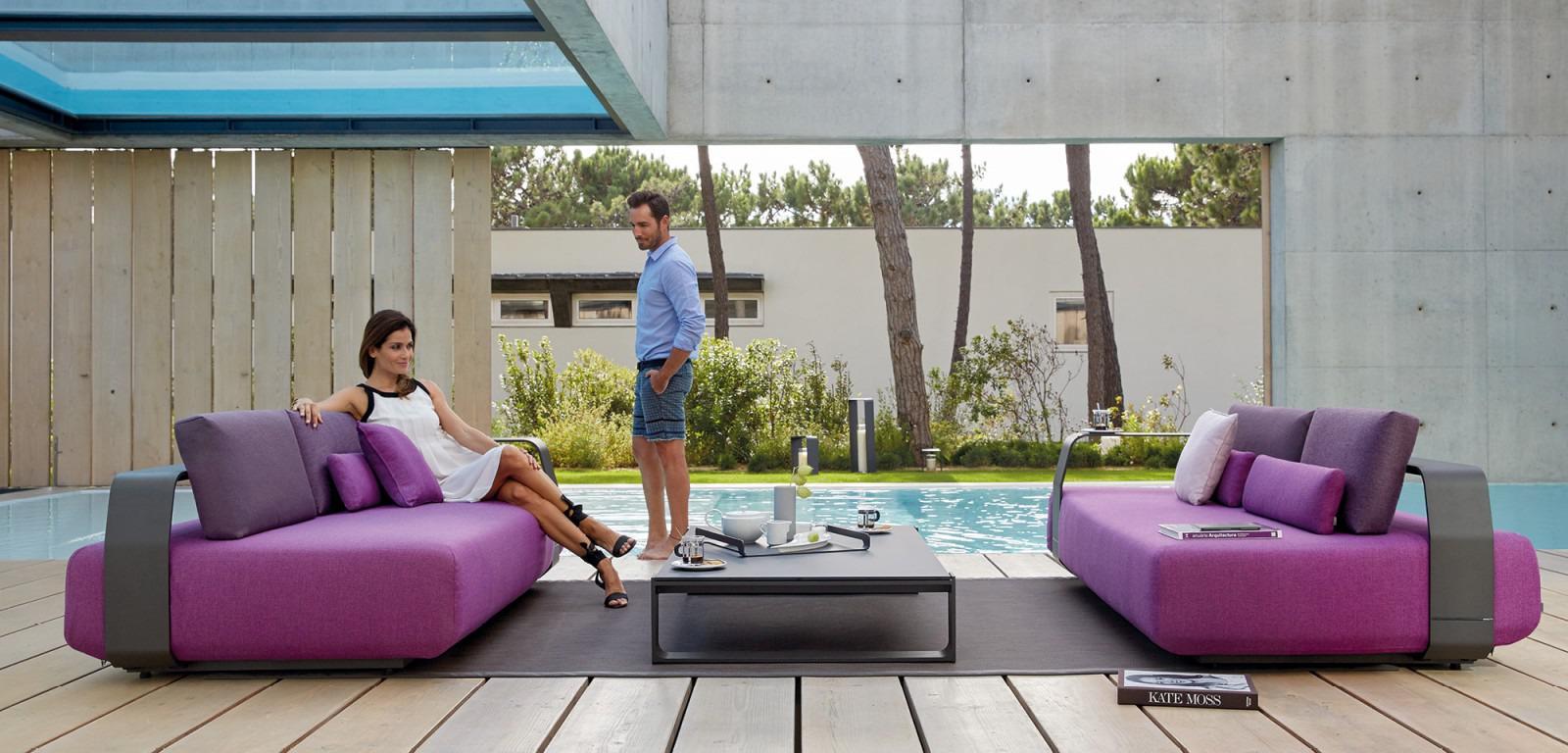 Manutti Luxury Kumo 3 Seater Sofa - Couture Outdoor