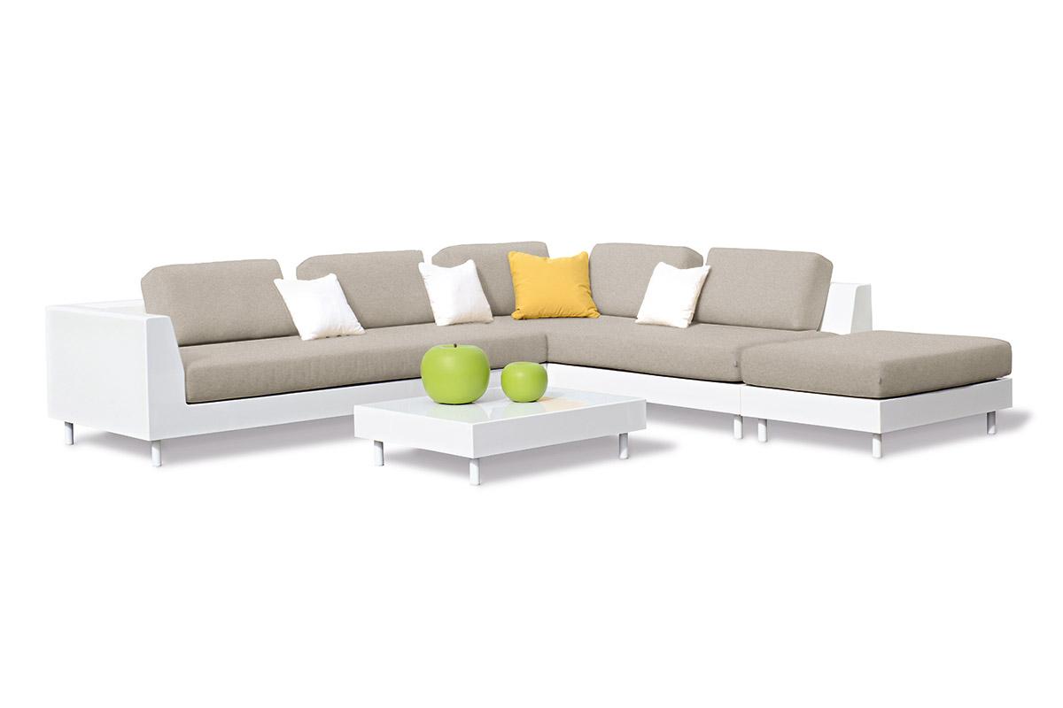 Allure sectional sofa couture outdoor for Sofa modular exterior