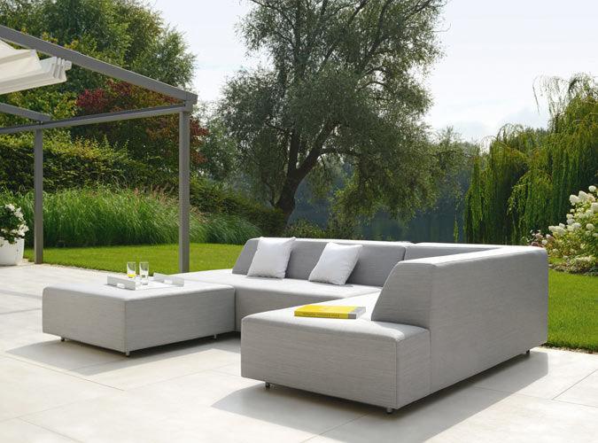 Amanda Modular Contemporary Sofa - Couture Outdoor
