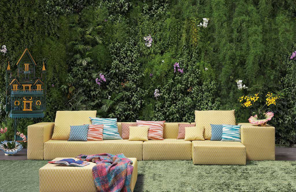 missoni home outdoor sofa couture outdoor rh coutureoutdoor com missoni outdoor chair Missoni Home Collection