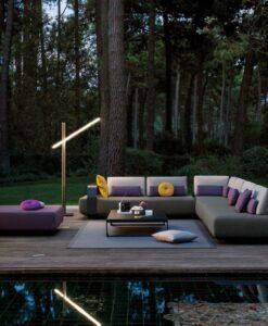 manutti kumo modern sectional sofa