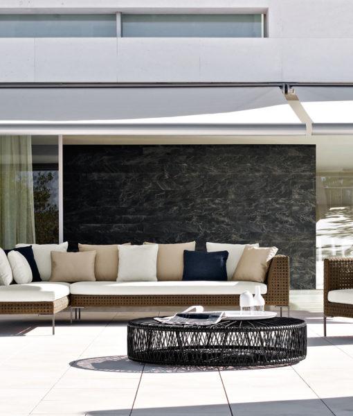 B b italia charles sectional sofa couture outdoor B b italia charles sofa