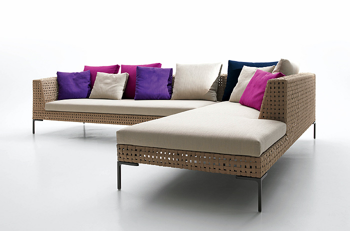 B B Italia Charles Sofa b b italia charles sectional sofa couture outdoor