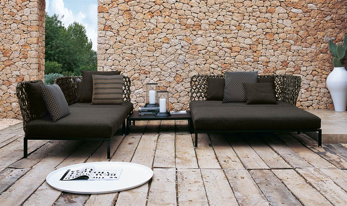 b b italia ravel modular sofa couture outdoor. Black Bedroom Furniture Sets. Home Design Ideas