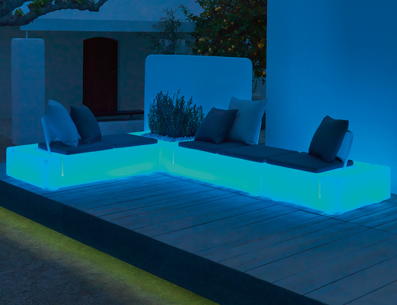 rest modular sofa vondom couture outdoor