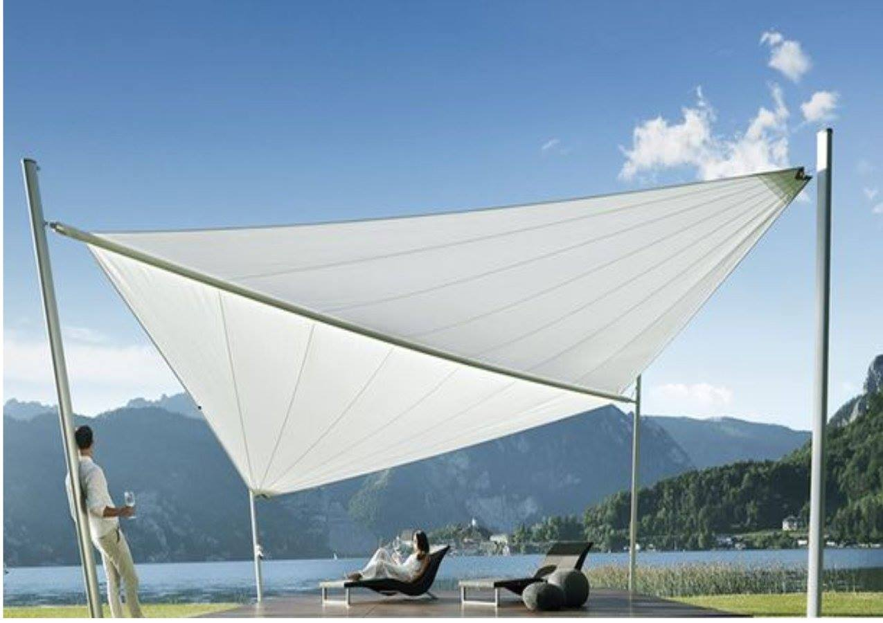 Automatic Smartphone Sail Shade Adjustable Couture Outdoor
