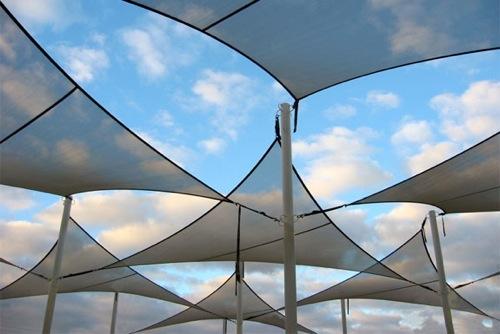 4226 Couture Outdoor Sail Shade Modern Umbrella Adjule 4229b