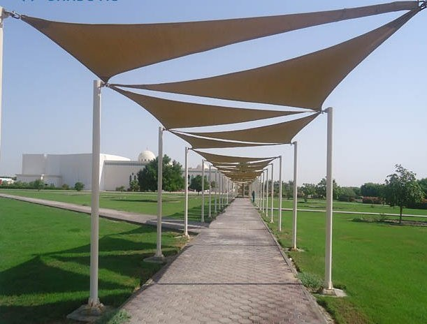 Sail Shade Multiple Views Couture Outdoor