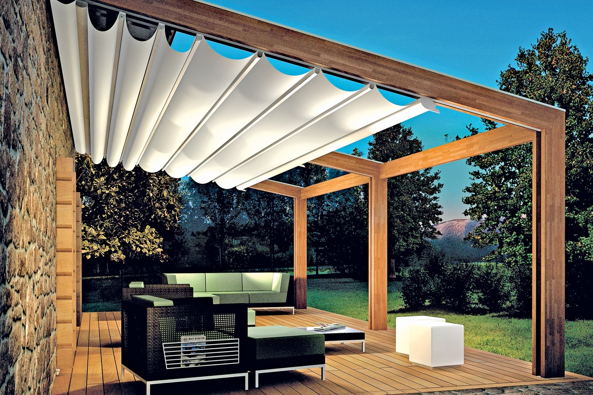 Pergola Custom Residential Retractable Couture Outdoor