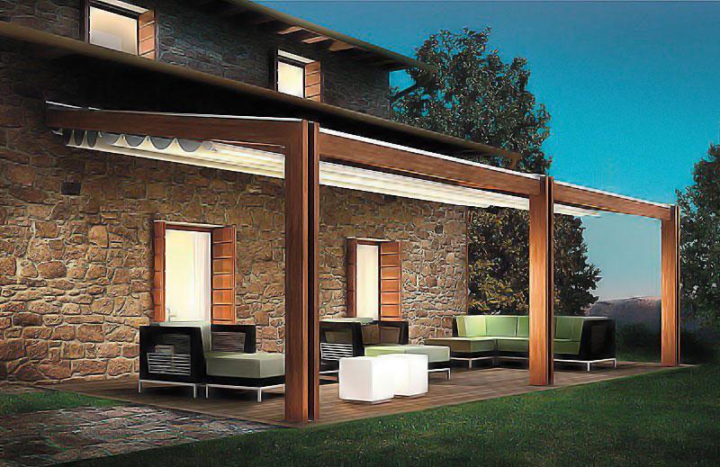 Pergola Custom Residential Retractable Couture Outdoor