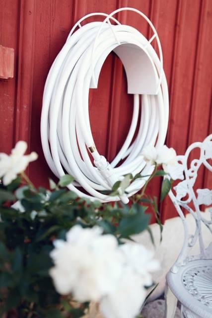 Elegant 5204a_ Garden_Hose_White_Couture_Outdoor. 5204b_ Color Garden Hose White ...