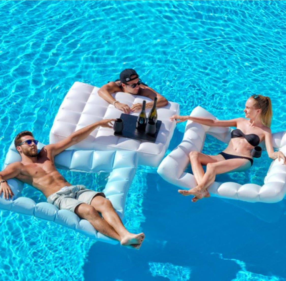 Floating Oasis Inflatable Pool Furniture Couture Outdoor