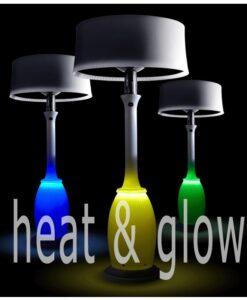Haute Heater & LED Light Outdoor