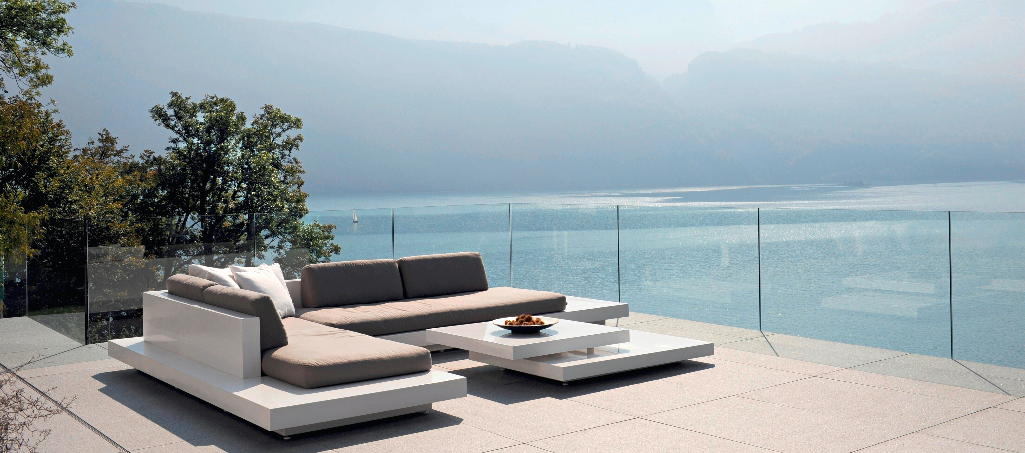 Air Platform Sectional Sofa By Rausch Couture Outdoor