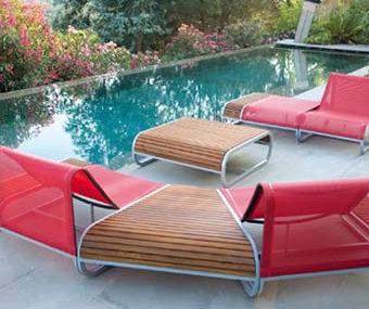 Amore Ego Paris modular teak club chair