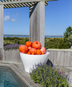 couture outdoor apple decor