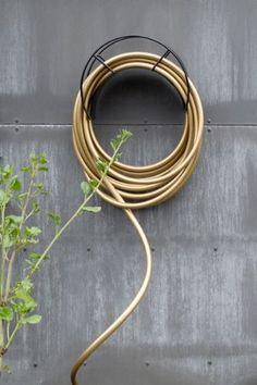 Color Garden Hose Gold U0026 Black Antler Hook