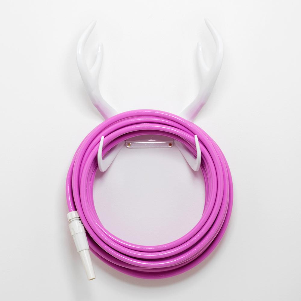 Pink White Antler Hose. 5203a_ Garden_Hose_Turqoise_Couture_Outdoor. 5203b_  Garden_Hose_Turqoise_Couture_Outdoor