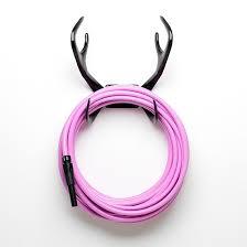 pink hose black antler hose mount