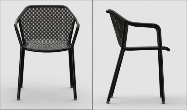 Charmant Edwin Bistro Dining Emu Chairs Contemporary Hospitality Commercial