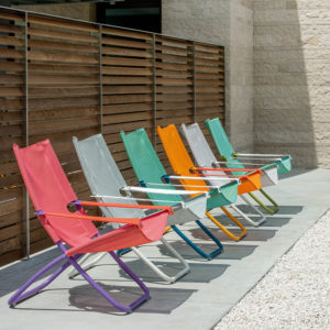 designer buddha folding beach chair