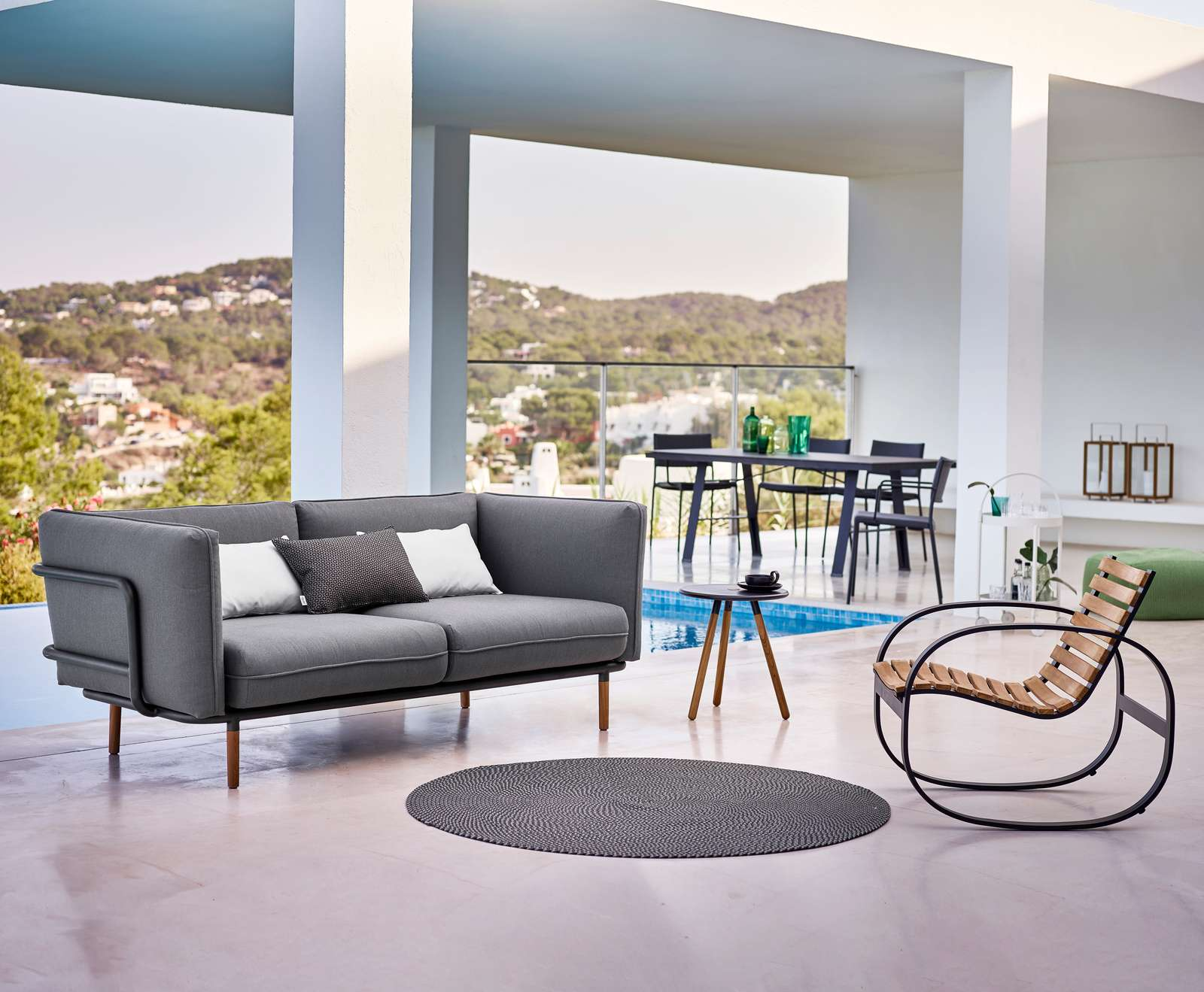 Urban 3 Seater Sofa By Cane Line Couture Outdoor