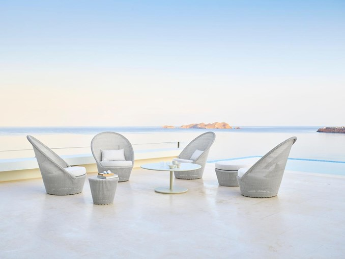 Kingston Club Chair By Cane Line Couture Outdoor