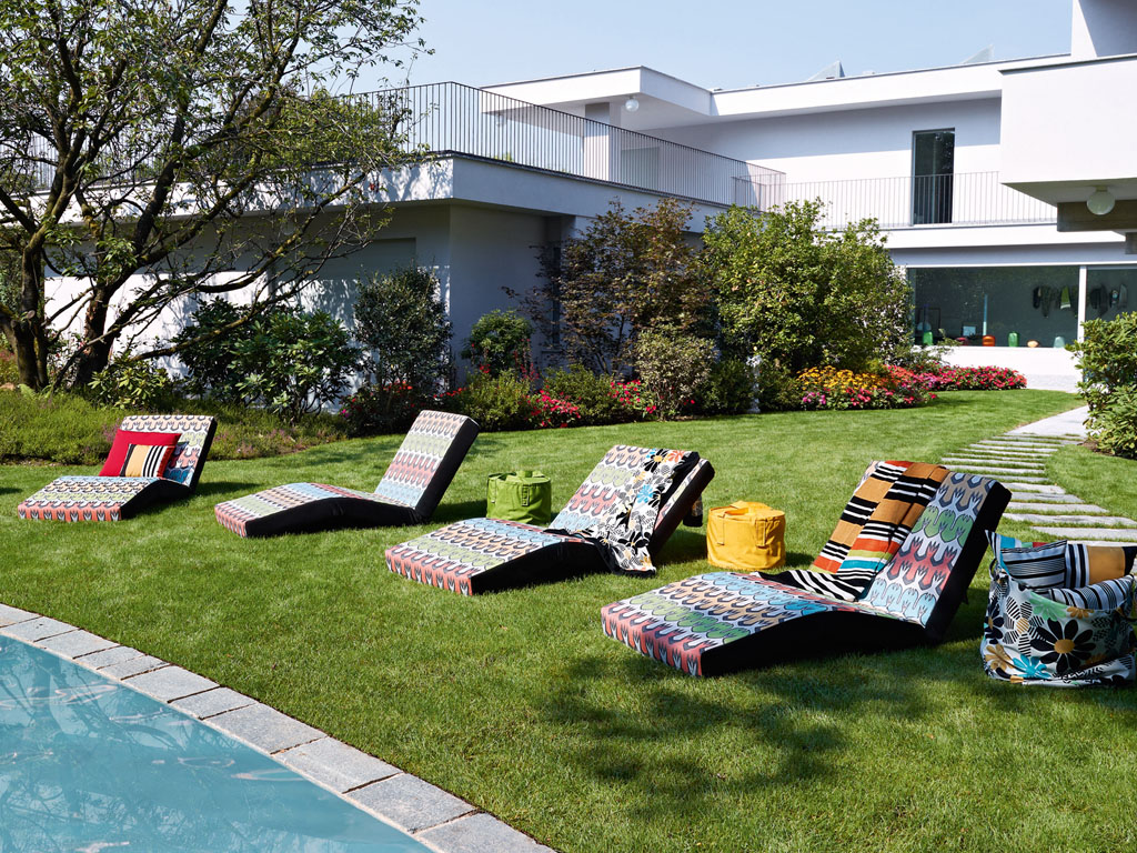 missoni chaise lounger couture outdoor rh coutureoutdoor com Missoni Home Collection Missoni Home Collection