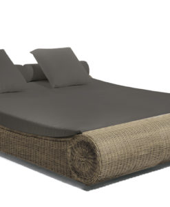 manutti orlando wicker daybed traditional