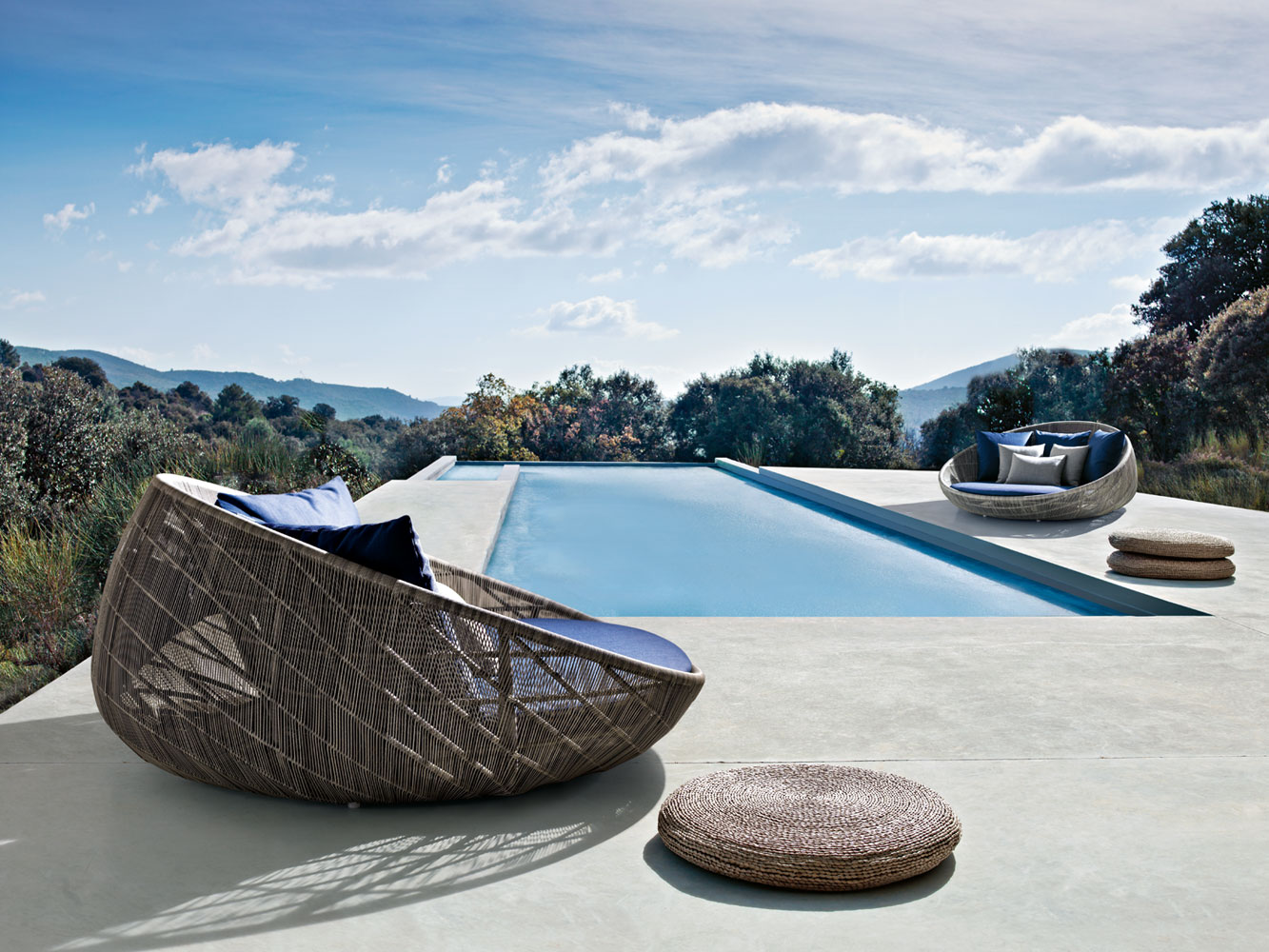 B b italia canasta daybed couture outdoor for B b italia outdoor