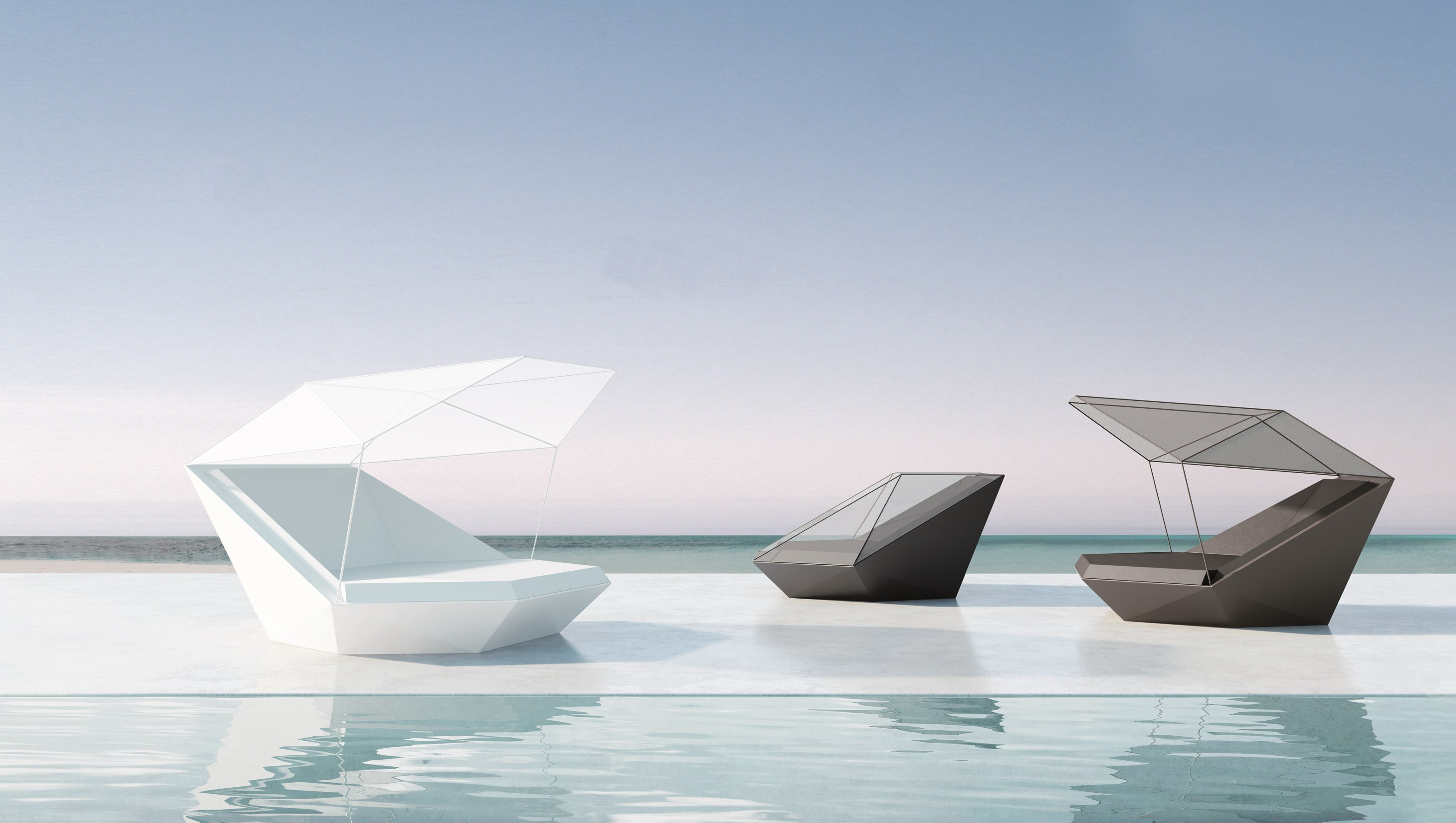 Vondom Faz Daybed Couture Outdoor