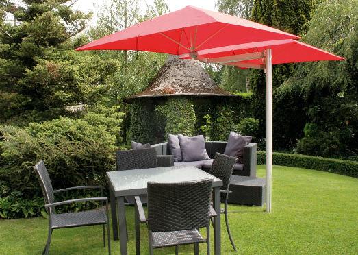 Victoria 2 Double Cantilever Umbrella Couture Outdoor