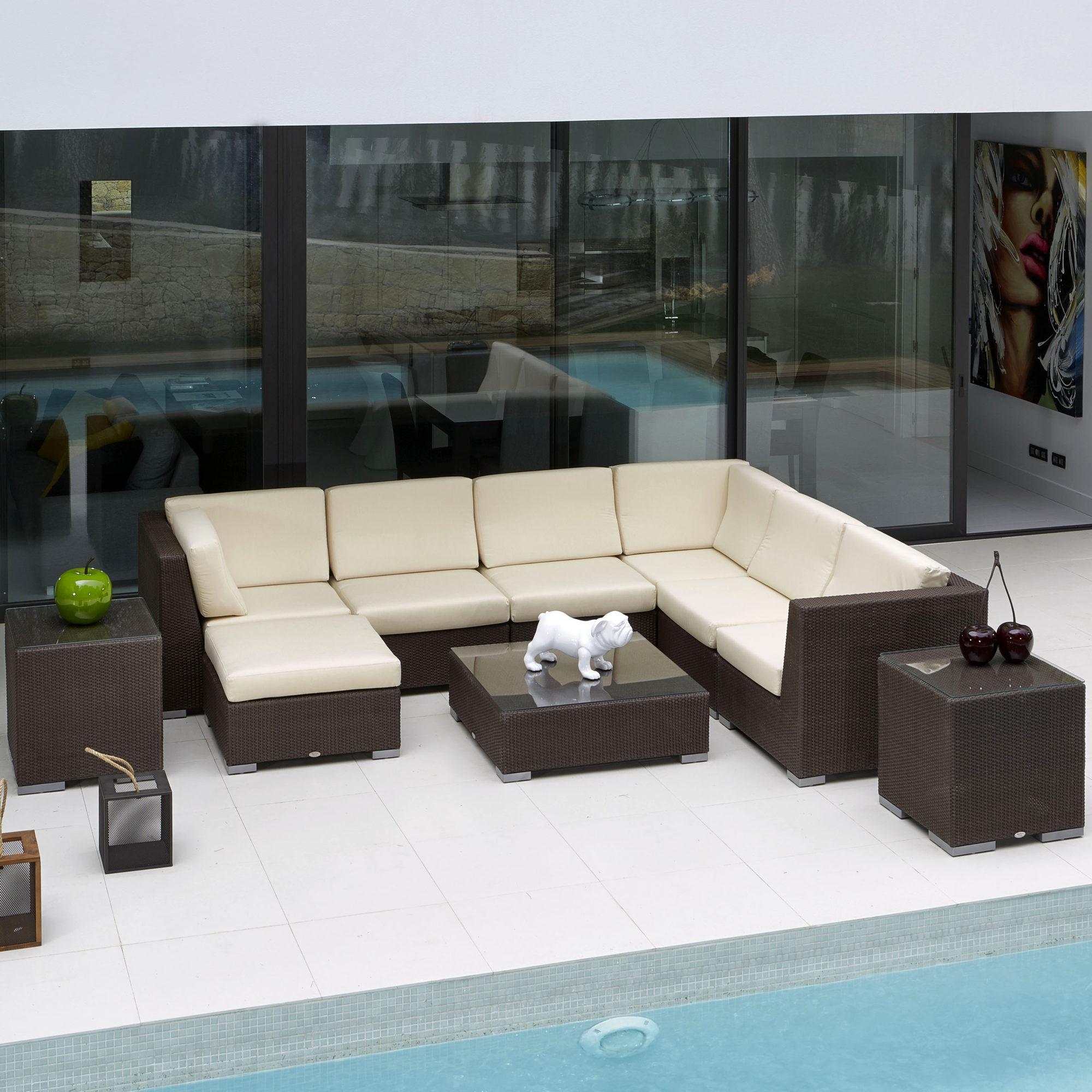 Skyline Pacific Modular Sofa Couture Outdoor