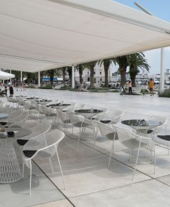 Cielo Dining Table Luxury Modern Contract Hospitality Commercial Outdoor Furniture