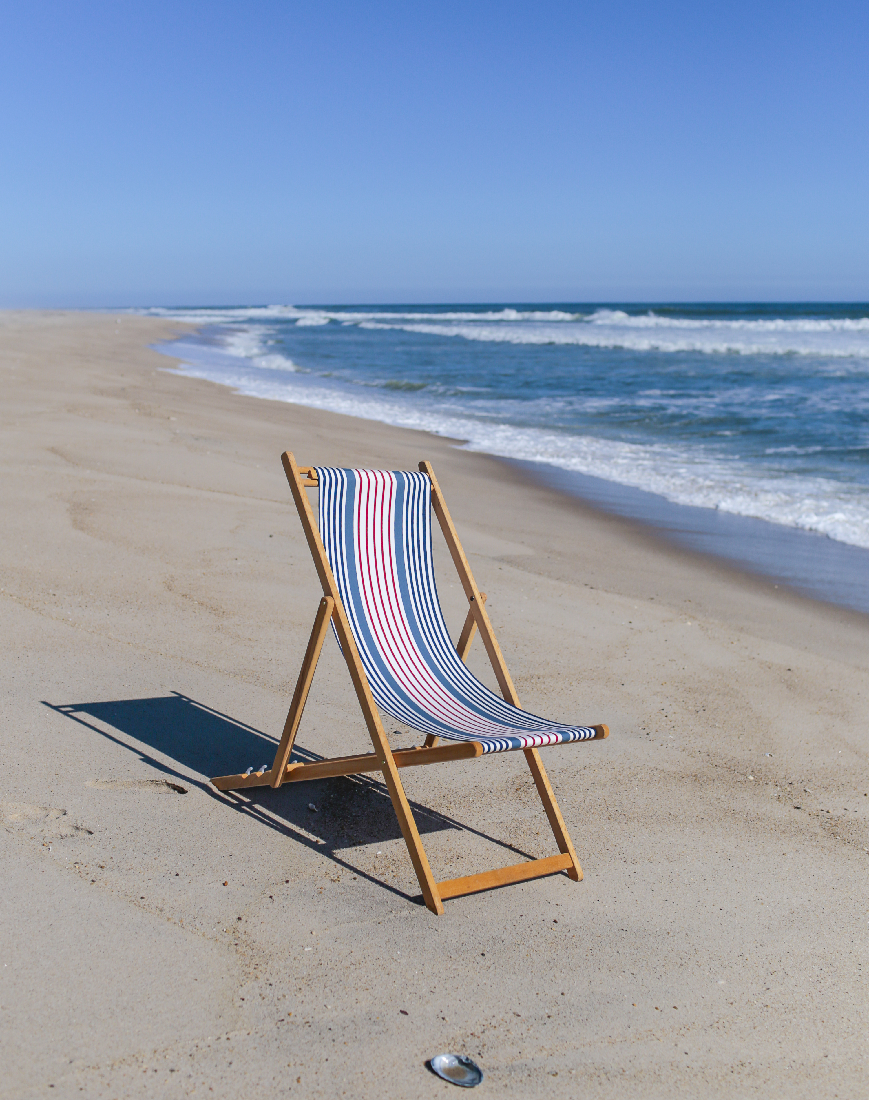 Beach Chairs Wood Handmade Couture Outdoor