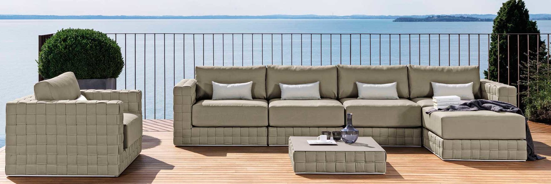 Baron Match Sectional Modular Couture Outdoor