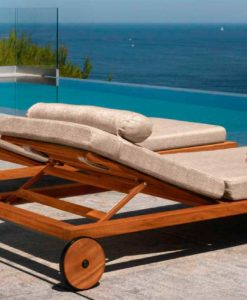Apropos modern chaise lounger teak or aluminum