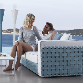 yasmin contemporary 2-3 seater sofa