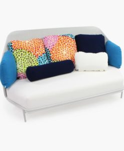 Alice High Back 3 Seater Sofa Modern Luxury Missoni
