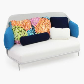 Alice High Back Ego Paris 3 Seater Sofa