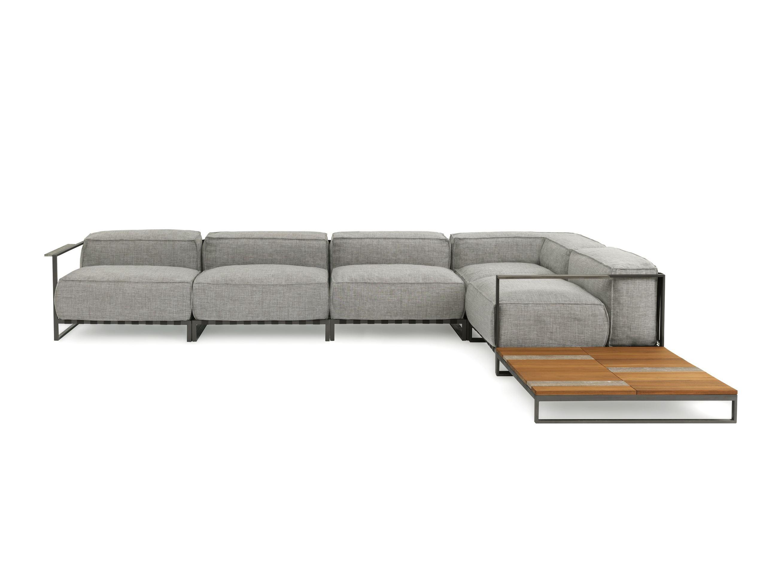 Badar modular sectional sofa couture outdoor for Sofa modular exterior